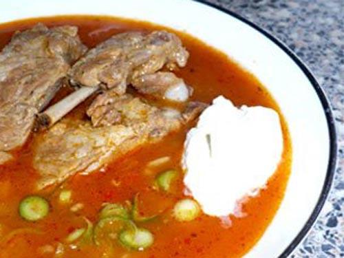 Как приготовить суп харчо из баранины с пошагово