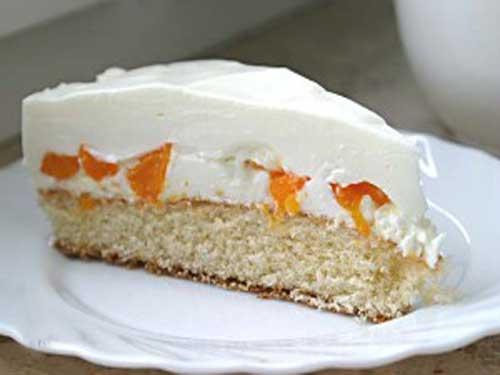 рецепт крема для бисквитного торта из взбитых сливок рецепт