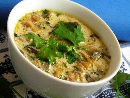 """""""Морской коктейль"""" с рисовой вермишелью – кулинарный рецепт"""